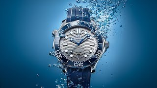 OMEGA Seamaster Diver 300M: Depth-defying beauty.