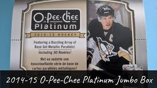 2014-15 O-Pee-Chee Platinum Hockey Jumbo Box Beak