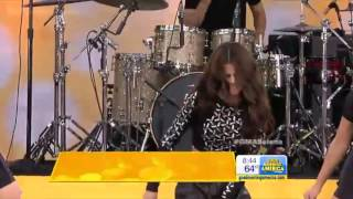 Selena Gomez - Slow Down Live At (Concert GMA 7-26-13)
