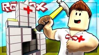 BUILDING MY OWN ROBLOX HOSPITAL! (Hospital Tycoon)