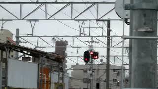 2016/09/22 (Thu) 名鉄瀬戸線 名鉄4000系 普通 栄町行 喜多山駅 発車