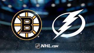 Rask, Krug power Bruins to 3-0 win against Lightning