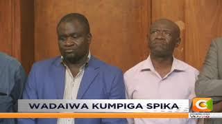 Waakilishi wadi 7 wafikishwa mahakamani kwa kuzua rabsha Kisumu