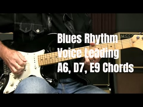 Blues Rhythm: Comping Using 6th, 7th, and 9th Chords For Voice Leading