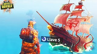 How to GET Prisoner PHASE 5... (Fortnite SEASON 8 Skin Location KEY Treasure Chest)