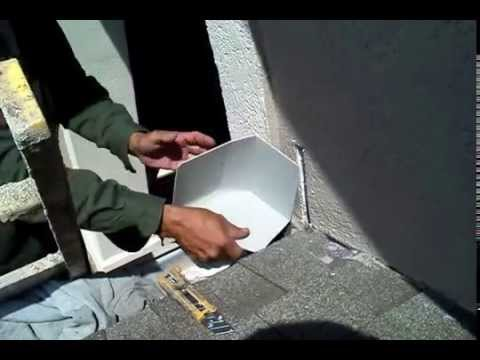 Installing Kick Out Flashing On Existing Eifs Youtube