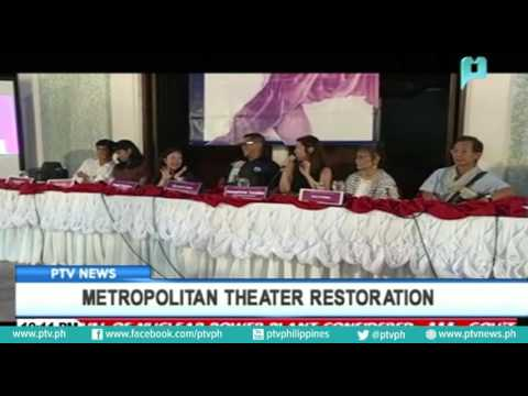 Metropolitan theater restoration