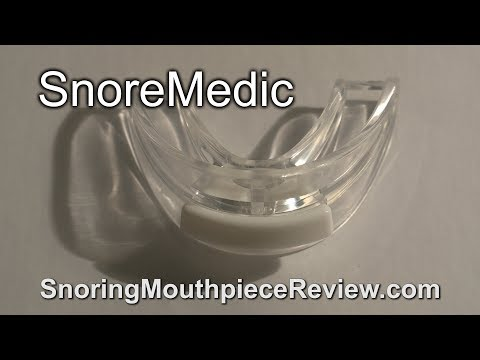 SnoreMedic: Snoring Mouthpiece Review (2018)