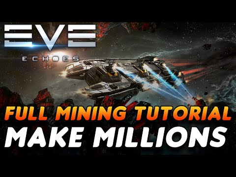 Everything You Need To Know About MINING | How To Fit A Venture, Choosing Ore/system | EVE Echoes