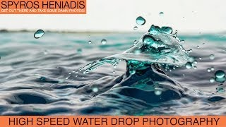 High Speed Water Drop Photography Tutorial