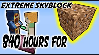 1 Month for FIRST Dirt Block? [ProtoSky] EXTREME 1.16 Nether Skyblock Ep.9