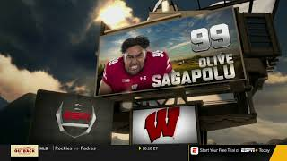 College Football-Western Kentucky at Wisconsin Aug 31, 2018 FULL GAME