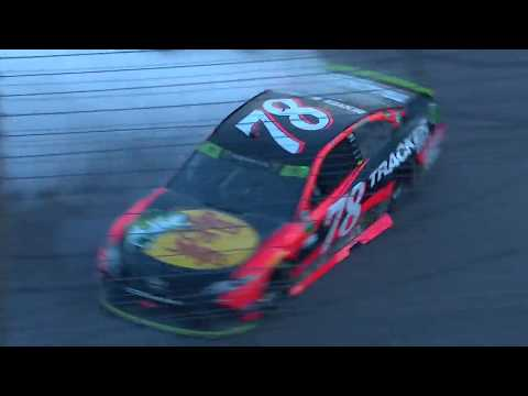 Martin Truex Jr. burn outs in style after Kansas victory