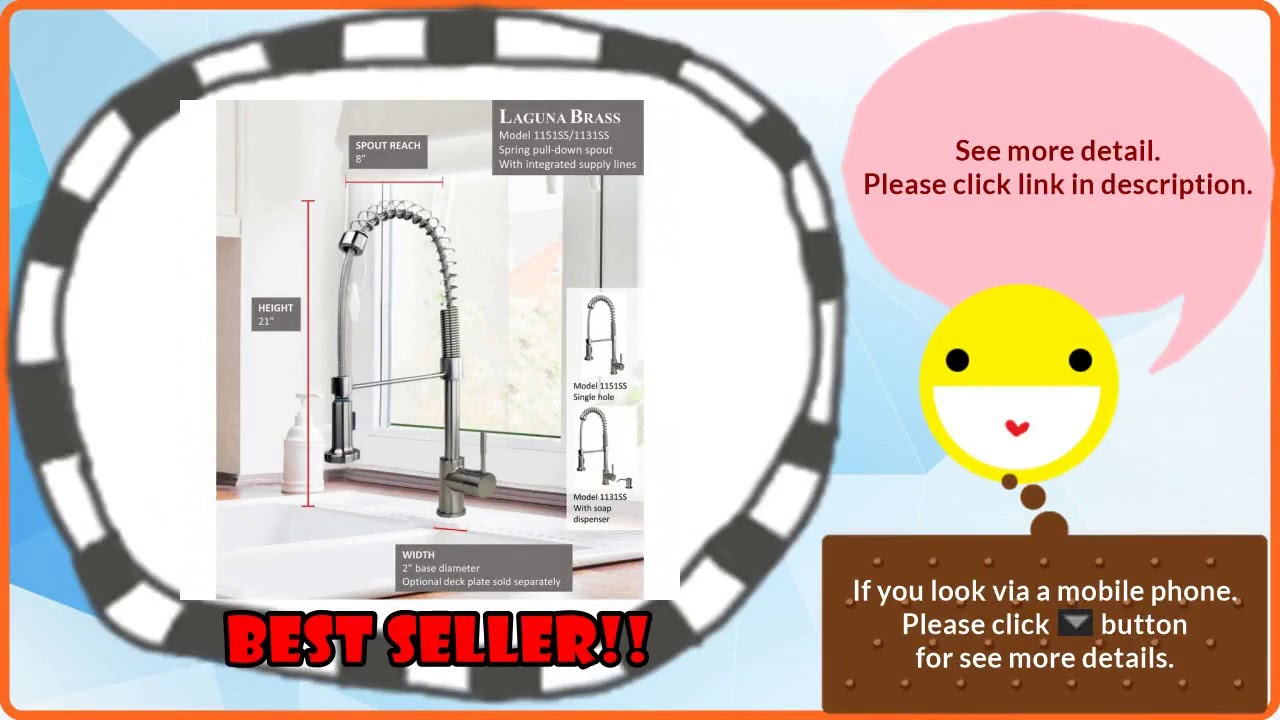 Best Selling Top Kitchen Faucets Brands Reviews - YouTube