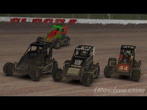 iRacing - Murray Bridge Bins Midget Speedweek - Night 2 - Eldora Speedway