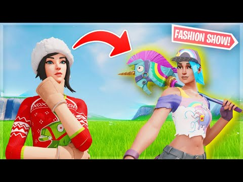Fortnite | Fashion Show! Skin Competition! Best DRIP & EMOTES WINS! [1/8]