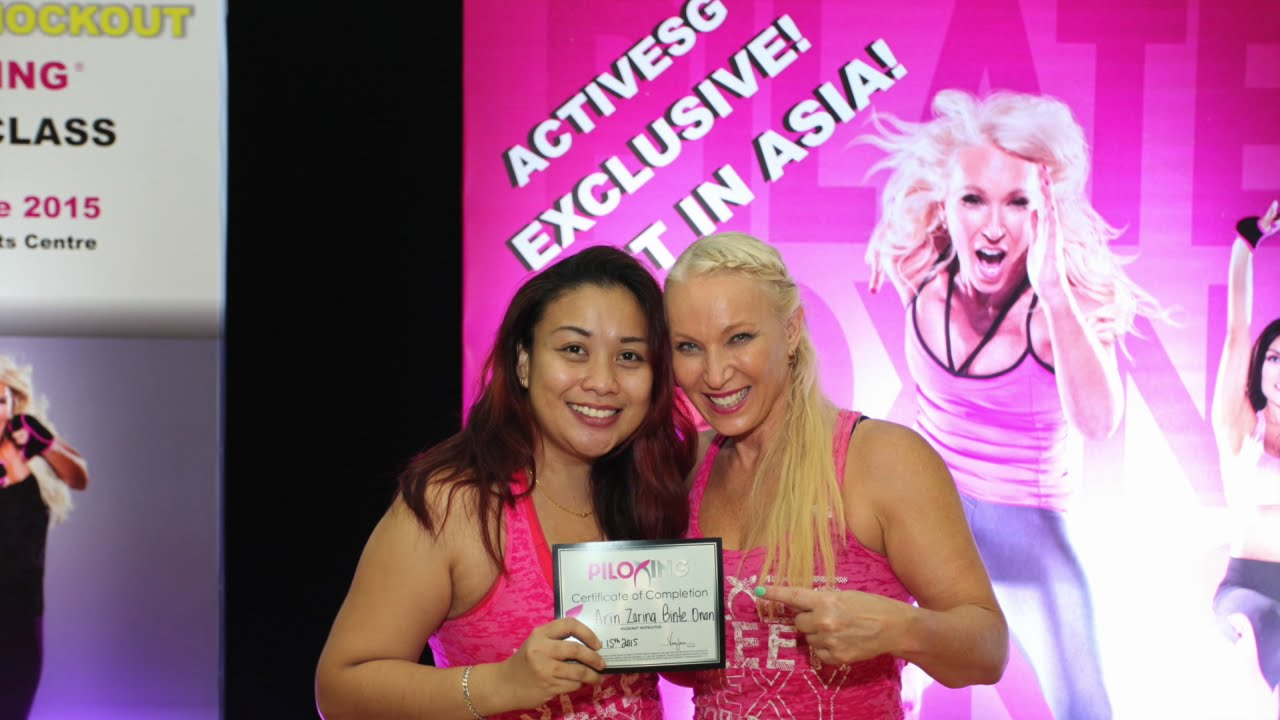 Singapores piloxing piloxing knockout instructor singapores piloxing piloxing knockout instructor certification activesg youtube xflitez Image collections
