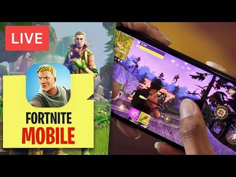 FORTNITE MOBILE in LIVE! GIÀ #1 VITTORIA REALE!
