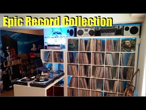 Epic Vinyl Record Collection - 2,000+ Albums....