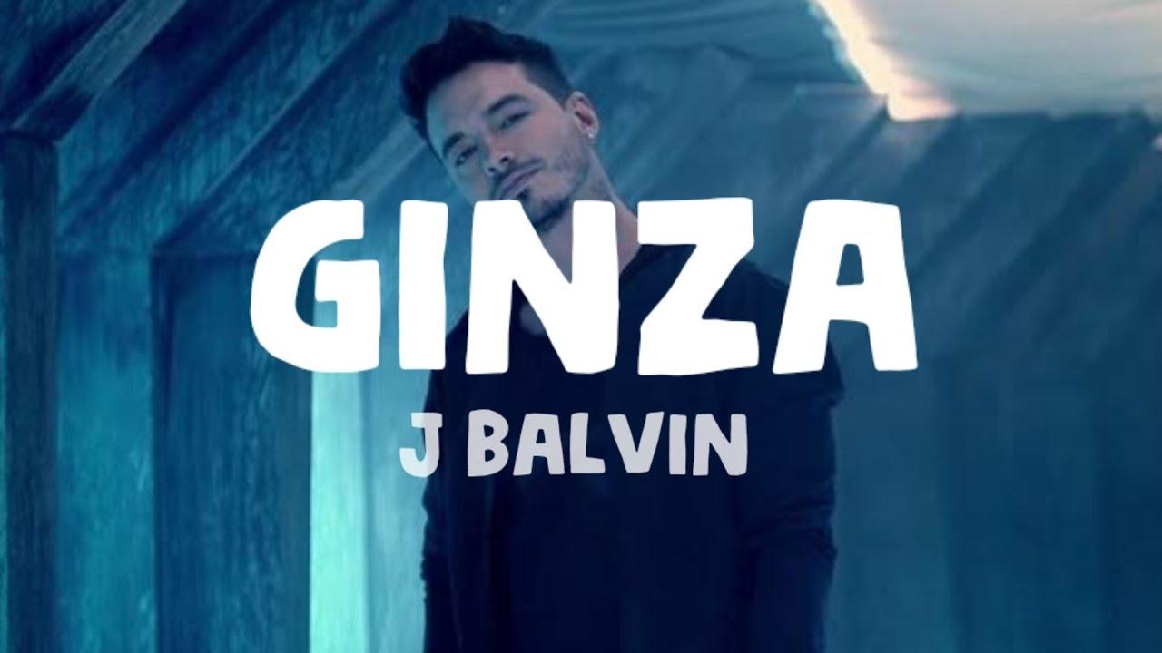 Download J Balvin - Ginza (Lyrics)