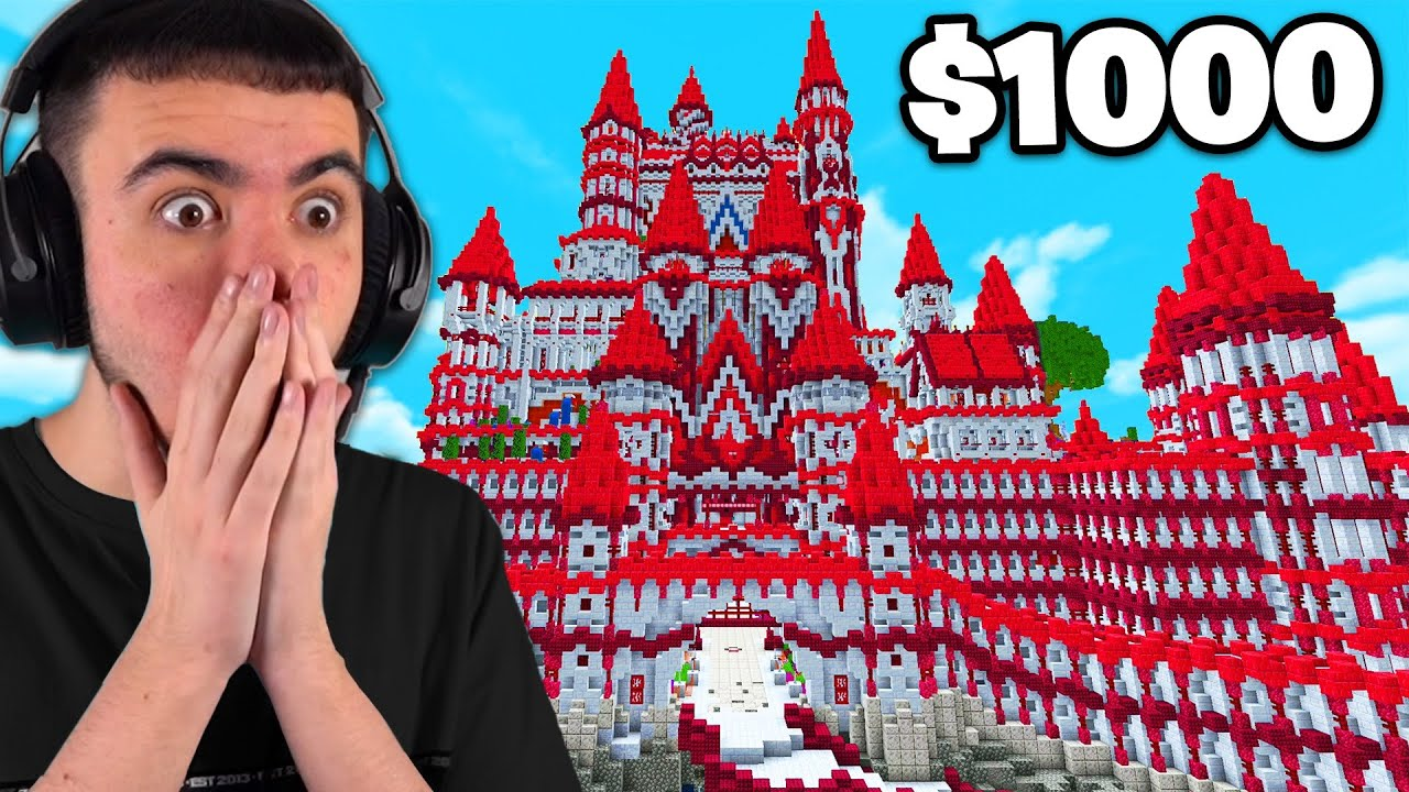 Best Minecraft Castle Wins $1,000