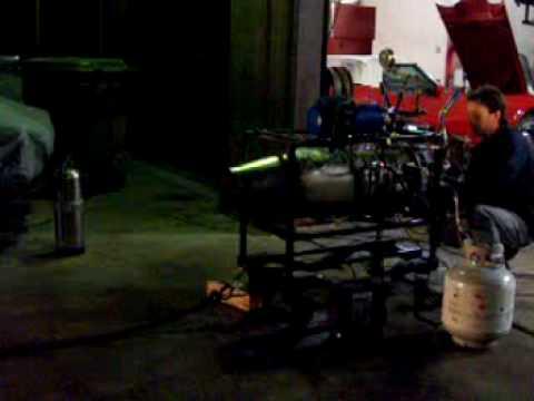 Jet Engine Test 1: TRI-60 Jet Engine First Start