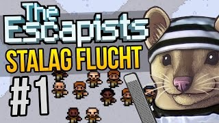 The Escapists - Part 1 - STALAG FLUCHT - The Escapists Gameplay (Stalag Flucht)