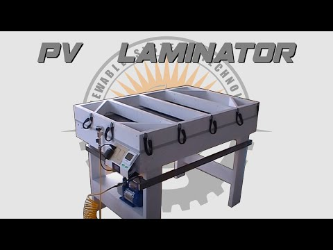 ☀️ Building A Solar Panel Laminator (Remastered) - Plans Available 📄