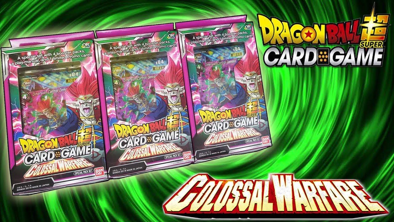 dragon ball super card game colossal warfare - 1280×720