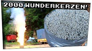 #Feuerfontäne 2000 Wunderkerzen auf einmal zünden! (Abospecial) - Techtastisch #40