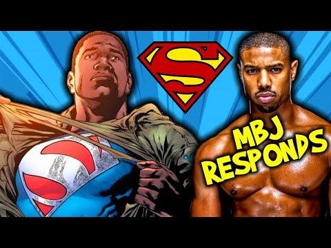 A BLACK SUPERMAN?!? | Michael B. Jordan RESPONDS to the RUMORS!!!