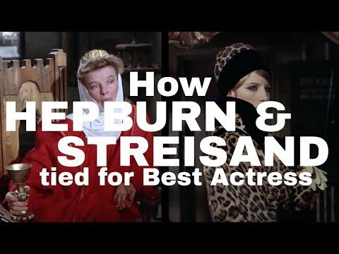 How Barbra Streisand and Katharine Hepburn Tied for Best Actress en streaming