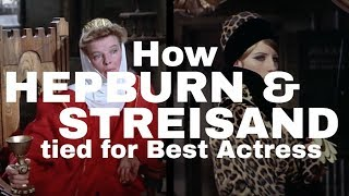 How Barbra Streisand and Katharine Hepburn Tied for Best Actress