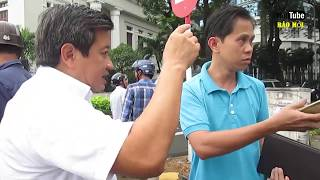 Hai tài xế nổi gân cổ nổi lý, phản ứng việc ông Đoàn Ngọc Hải bắt xe xử phạt - Tin Tức Mới