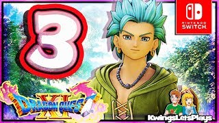 Dragon Quest XI: Echoes of an Elusive Age Part 3 Cobblestone Return & Kingsbarrow (Nintendo Switch)