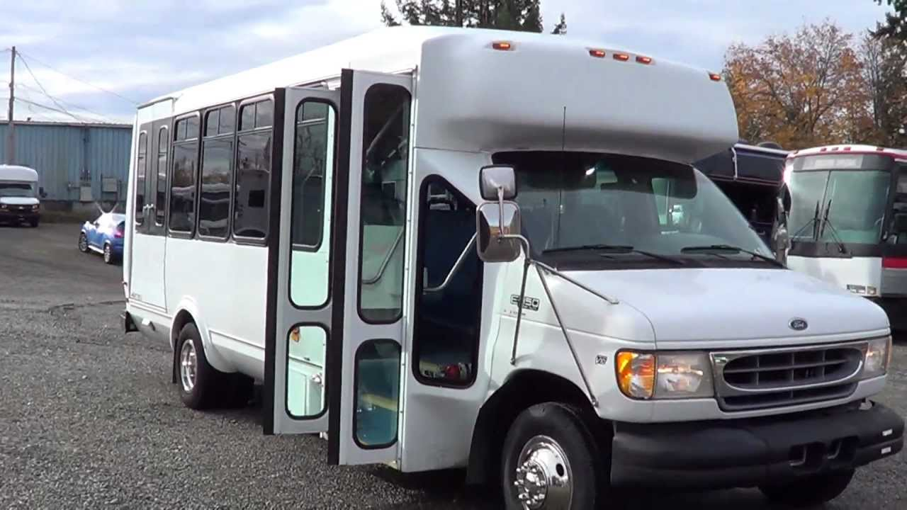 small resolution of northwest bus sales 1999 ford eldorado wheelchair shuttle bus for sale s84081 youtube