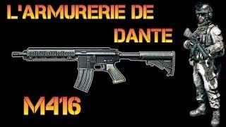 Battlefield 3 | L'armurerie de Dante : M416 ! (Battlefield 3 Gameplay/Commentary/Review)