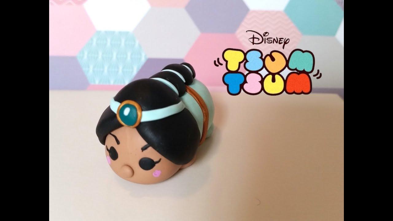 La Puntada De La Princesa Jasmine De Disney Tsum Tsum: DIY Tsum Tsum Princess Jasmine From Aladdin