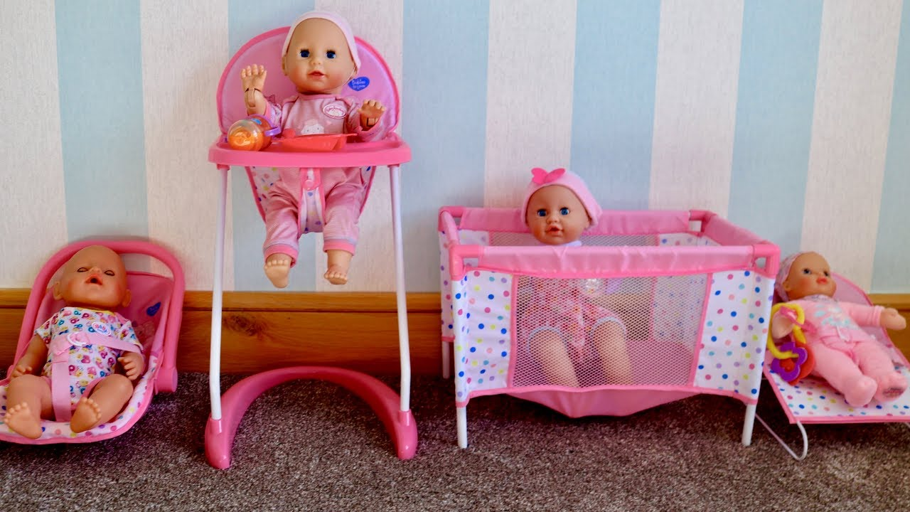 4-in-1 Nursery Center for Baby Born Baby Annabell ...