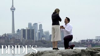 This Scavenger Hunt Proposal Will Make You Cry | Brides
