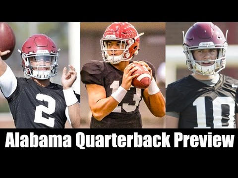 Alabama Football Quarterback Preview