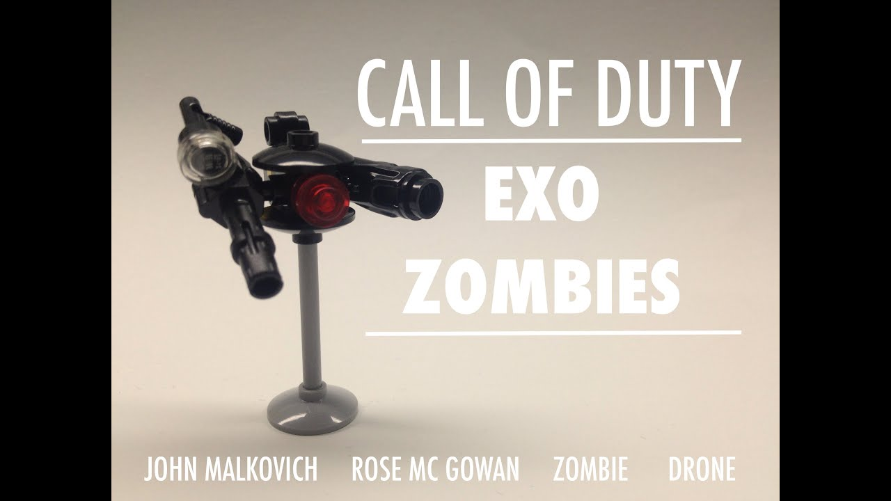 Lego Call Of Duty Advanced Warfare Zombies Youtube