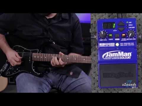 zZounds.com: DigiTech JMSXT JamMan Solo XT Stereo Looper