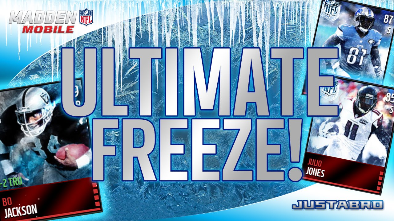 Madden Mobile Christmas Promo.Ultimate Freeze Promo Madden Mobile 16 Christmas Promo