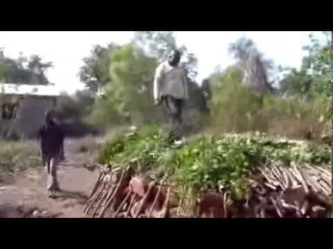 La fabrication du charbon de bois au b nin youtube for Fabrication charbon de bois