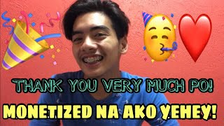 MONETIZE NA ANG CHANNEL KO WITHIN 1 MONTH