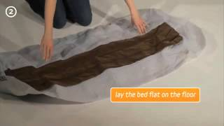 Inflating The Shrunks Inflatable Bed