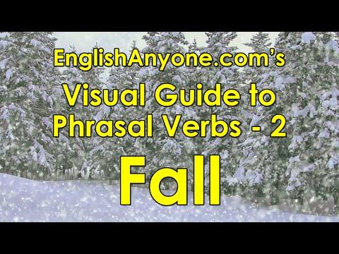 Phrasal Verbs with Fall - Visual Guide to Phrasal Verbs from EnglishAnyone.com