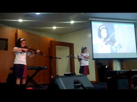 Denise and Denica's ' He who began a good work' rendition