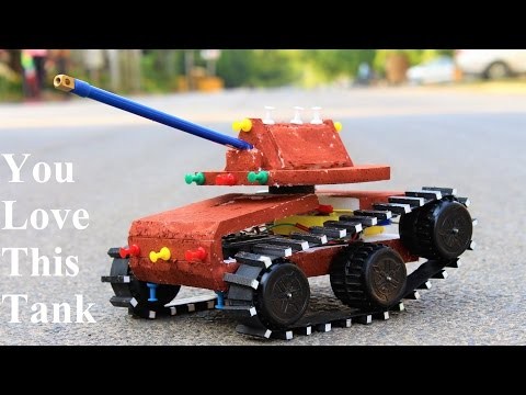 How To Make A Tank - Make Your Own Creation
